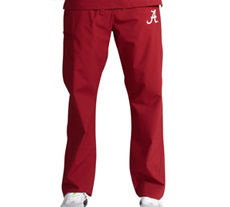 University of Alabama Unisex College Scrub Pants 5310