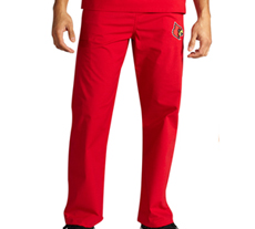 University of Louisville Unisex College Scrub Pants 5310