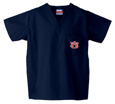 Auburn University Navy 1-Pocket Top